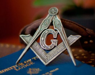 Masonic Square & Compasses – Clearance