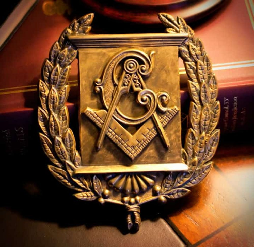 Masonic Emblem Wreath