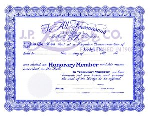 masonic-certificate