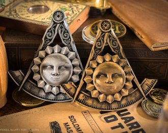Past Master Freemason Jewel