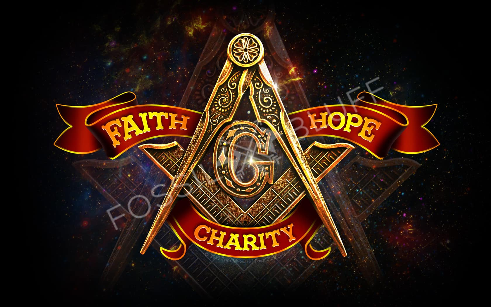 Freemason Virtues Wallpaper
