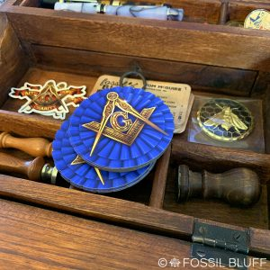 Masonic Die Cut Magnet