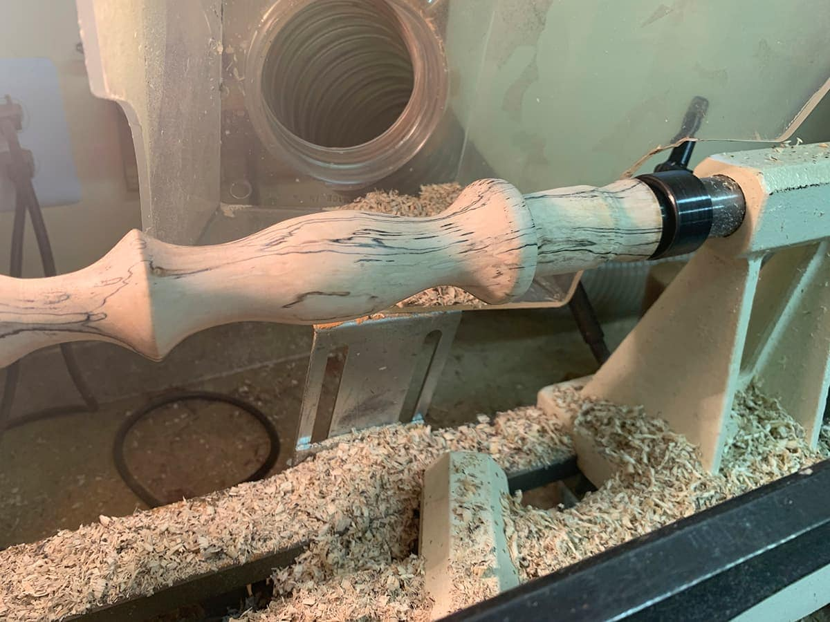 Mike Holmes Fossil Bluff Amber Beehive Masonic Setting Maul