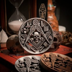 Masonic Medallion LUX – Memento Mori
